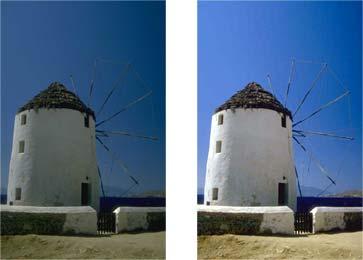 Confronto tra le due immagini