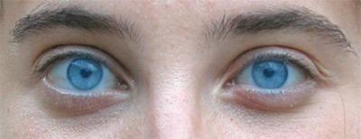 Applicazione del colore blue