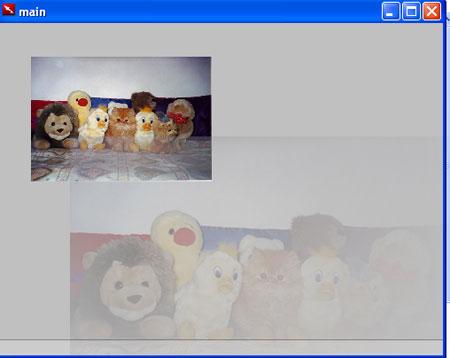 Screenshot dell'operazione di trascinamento
