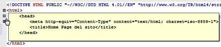 Figura 29: Mostrare il codice in un tooltip