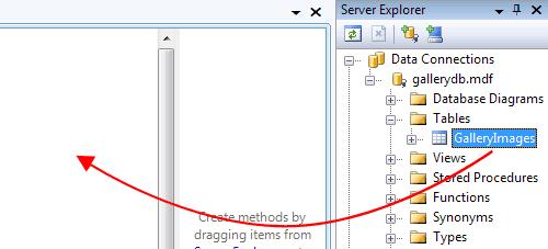 Creazione della classe LINQ To SQL