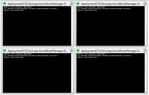 Avviamo il progetto nella cloud di Windows Azure