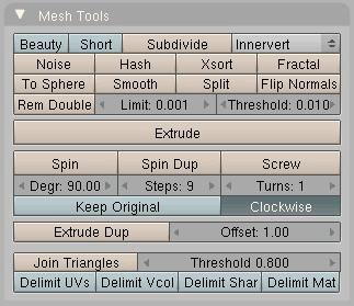 Mesh tools