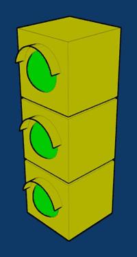 Le tre luci del semaforo