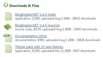BlogEngine.NET Release