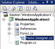 Il Solution Explorer