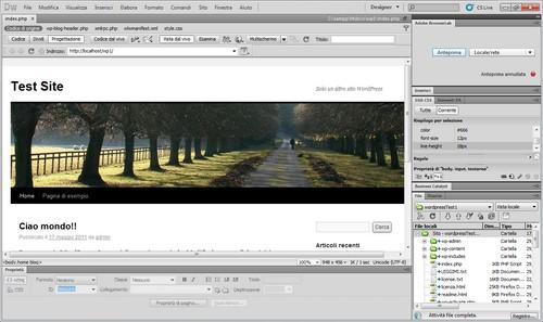 Il Pannello Laterale di Adobe Browser Lab