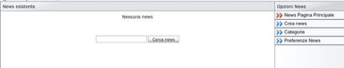 nessuna news