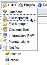 e107 file inspector