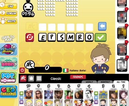 Il gioco world challenge