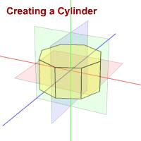 Il cilindro con qualità impostata ad 8