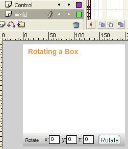 Stage per la creazione il cubo