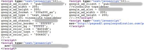 Esempio sulla differenza del vecchio codice rispetto al nuovo