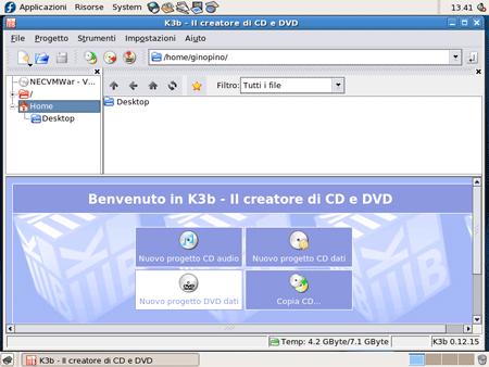 masterizzare con K3b