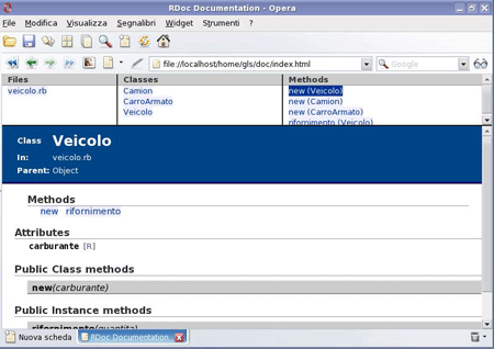 Documentazione automatica