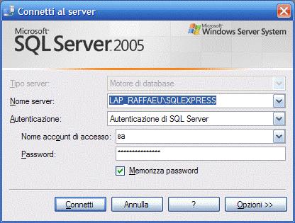Login di Sql Server.