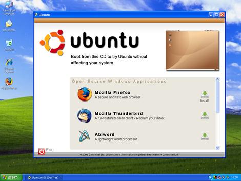 2: Windows Open-CD