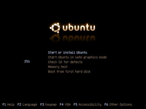 3: Ubuntu Live CD