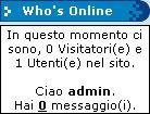 Il blocco Who's Online