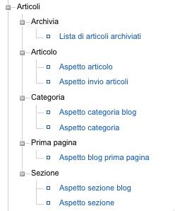 Articoli archiviati e in prima pagina