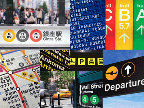 Segnali e cartelli metropolitani