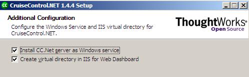 Configurazione della webDashboard