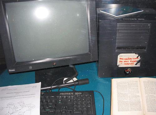 Il primo Web Server che gira su NeXTSTEP