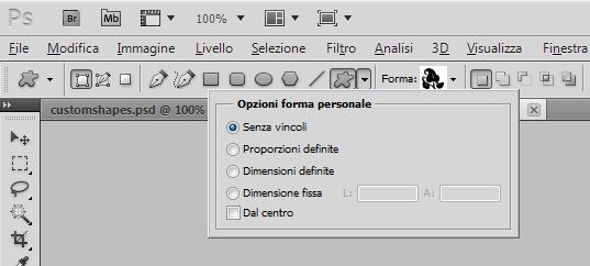 Opzioni forma personale