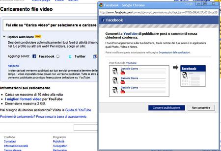 Youtube e Facebook