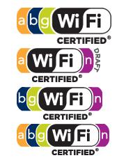 Vari loghi Wi-Fi