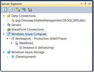 Monitorare il deployment con il Server Explorer