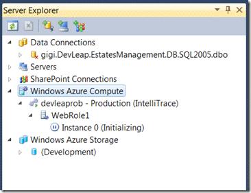 Monitorare il deployment con il Server Explorer