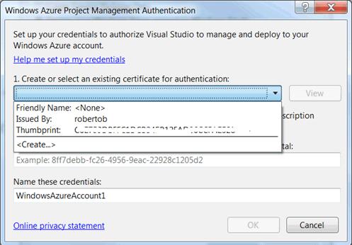 Associare il certificato per l'autenticazione