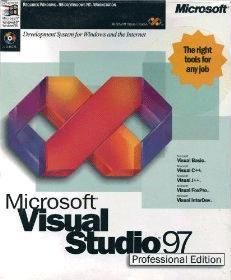 La prima versione di visual studio, correva il 1997