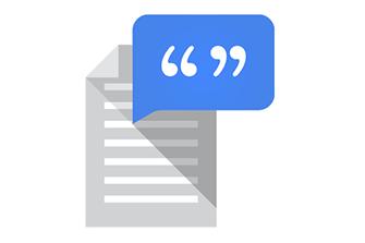 Sintesi vocale di Google